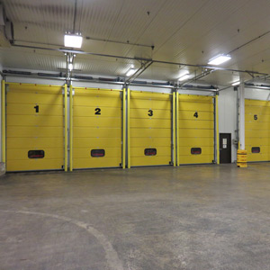 Loading Dock Doors Inside